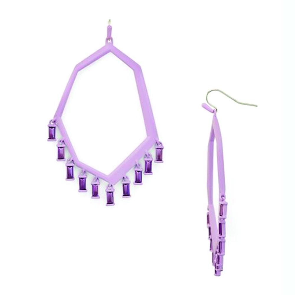 Kendra Scott Thomas Earrings Matte Lilac