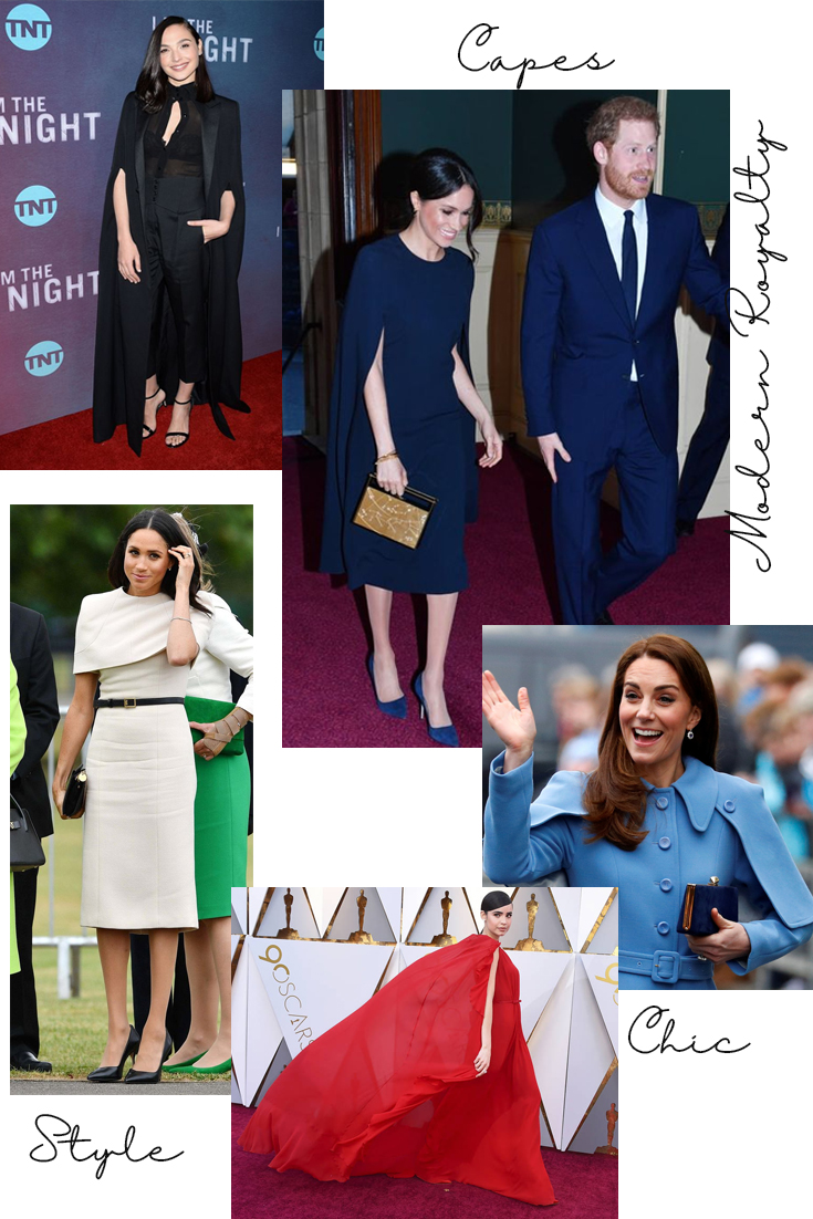 Meghan Markle at Chester Town Hall and the Queen's Birthday Concert (pictured with Harry) , Gal Gadot at the I am Night Premiere, Kate Middelton at the Braid Centre in Ballymena, Sofia Carson at the Oscars