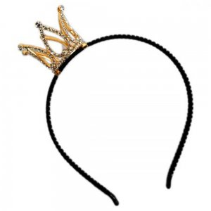 Mini Rhinestone Crown Headband