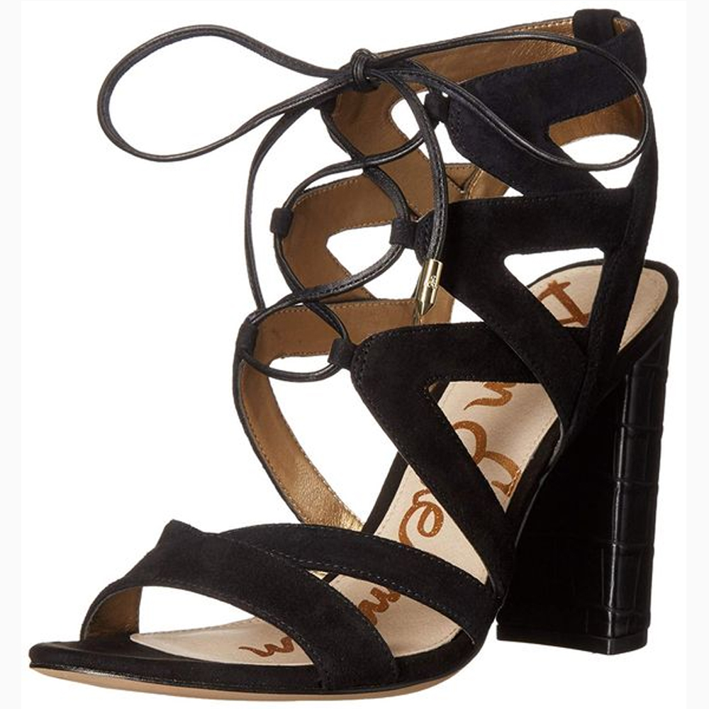 Sam Edelman Yardley Dress Sandal in Black