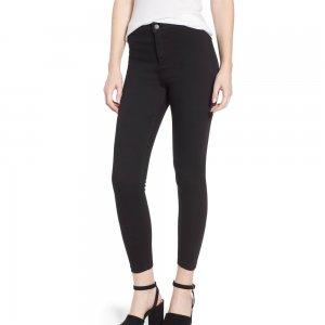 Topshop Joni Black Jeans