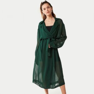 UO Tammy Sheer Trench Coat