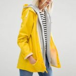 Rains Waterproof Yellow Jacket