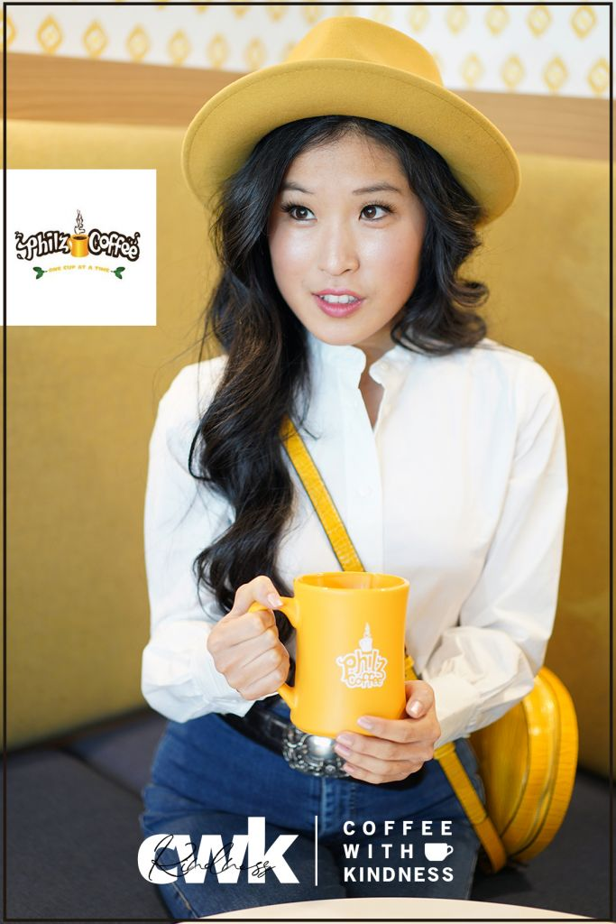 Philz Coffee, Philz Yellow Coffee Cup, Wyeth Abbie Yellow Fedora, WYETH James Fedora