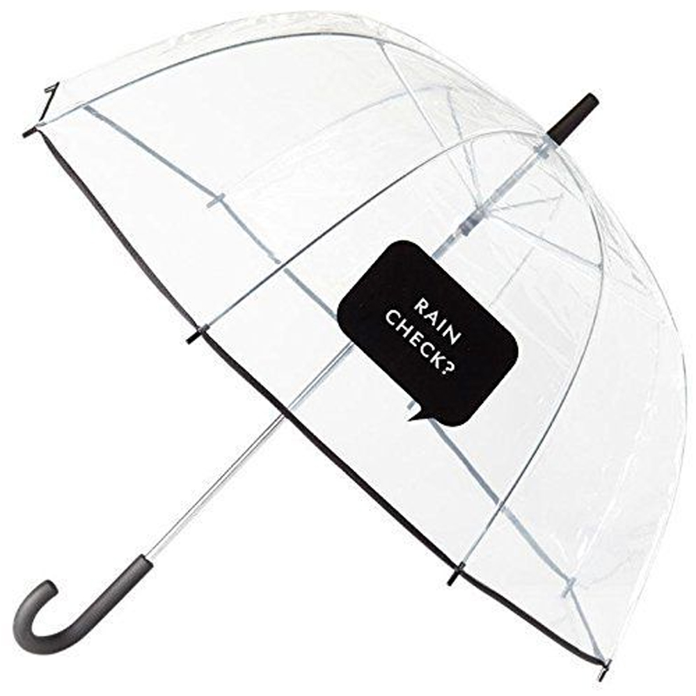 Kate Spade New York Large Dome Umbrella, Rain Check