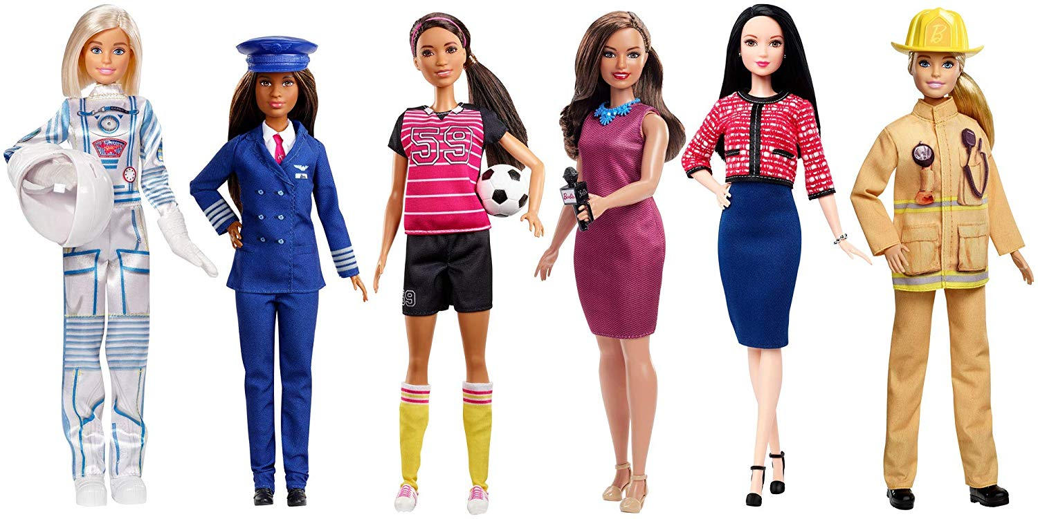Barbie 60th Anniversary Career Dolls