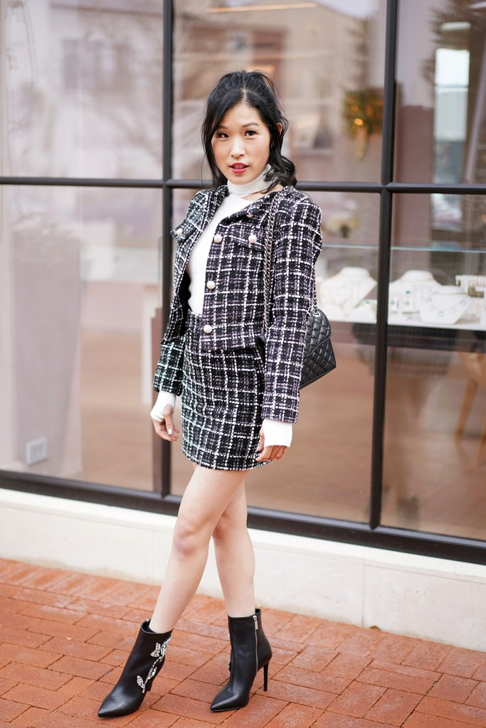 Coco Chanel Inspired Tweed Jacket For Millennials