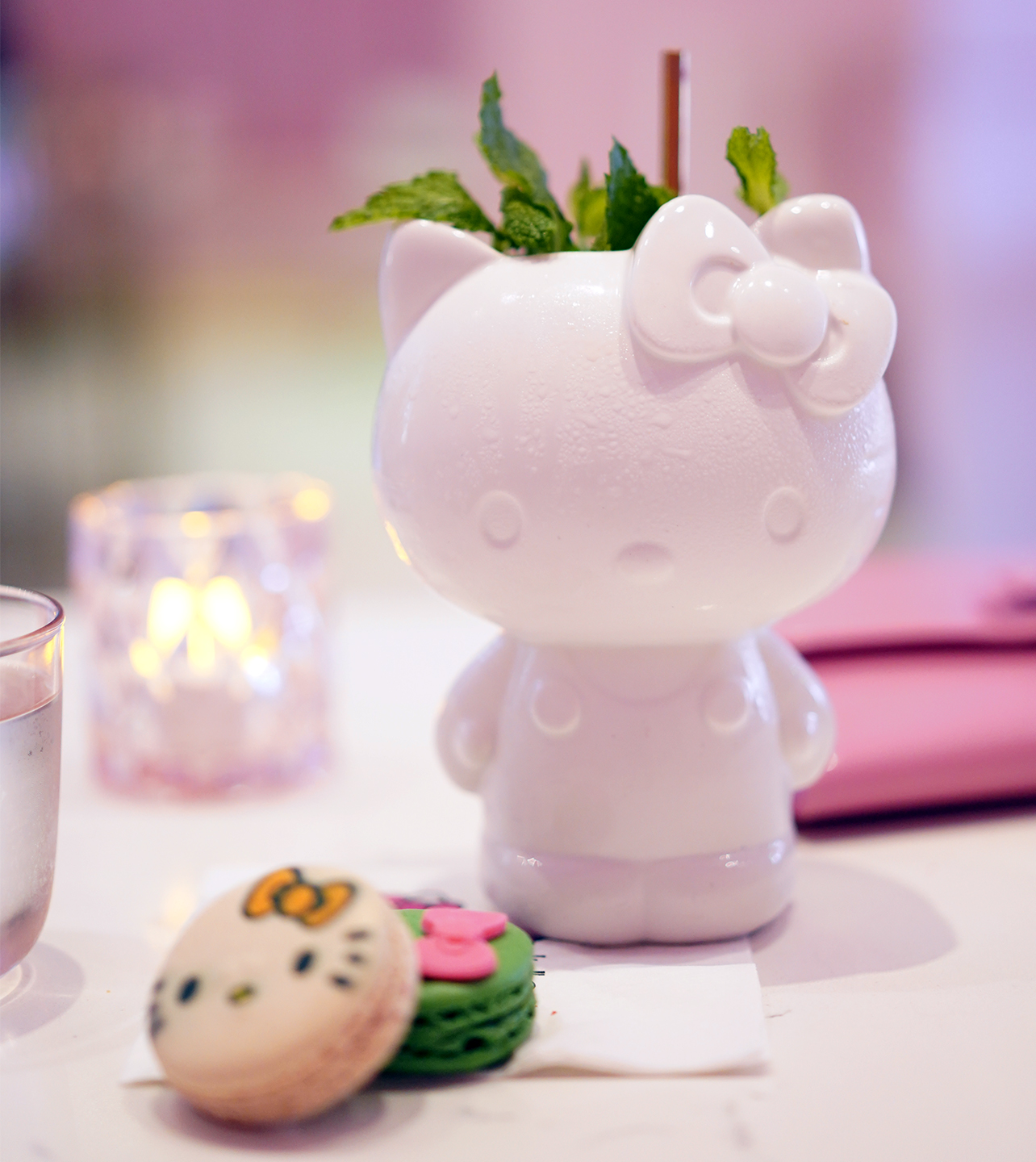 Hello Kitty Grand Cafe Mocktail named Small Gift