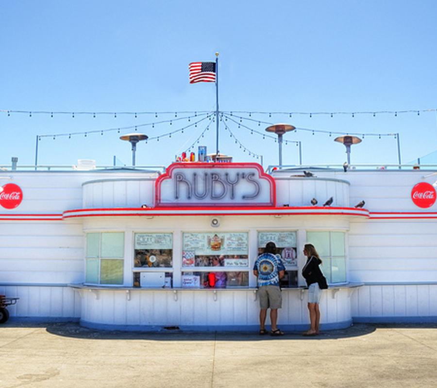 Ruby's Diner Balboa Pier
