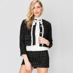 Storets Bronwyn Classy Tweed Jacket and Skirt Set