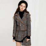 Storets Nami Jacket & Skirt Two-piece Tweed Set