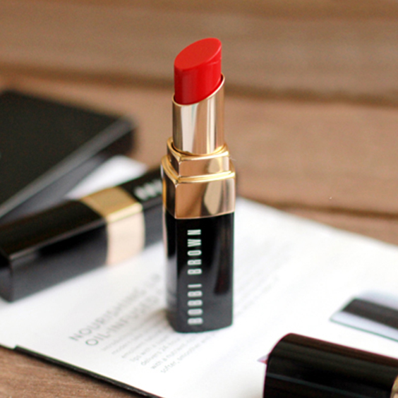 Bobbi Brown Nourishing Lip Color in Poppy