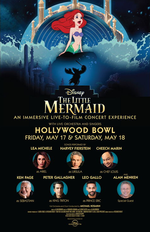 Disney The Little Mermaid An Immersive Live-To-Film Concert Experience Poster