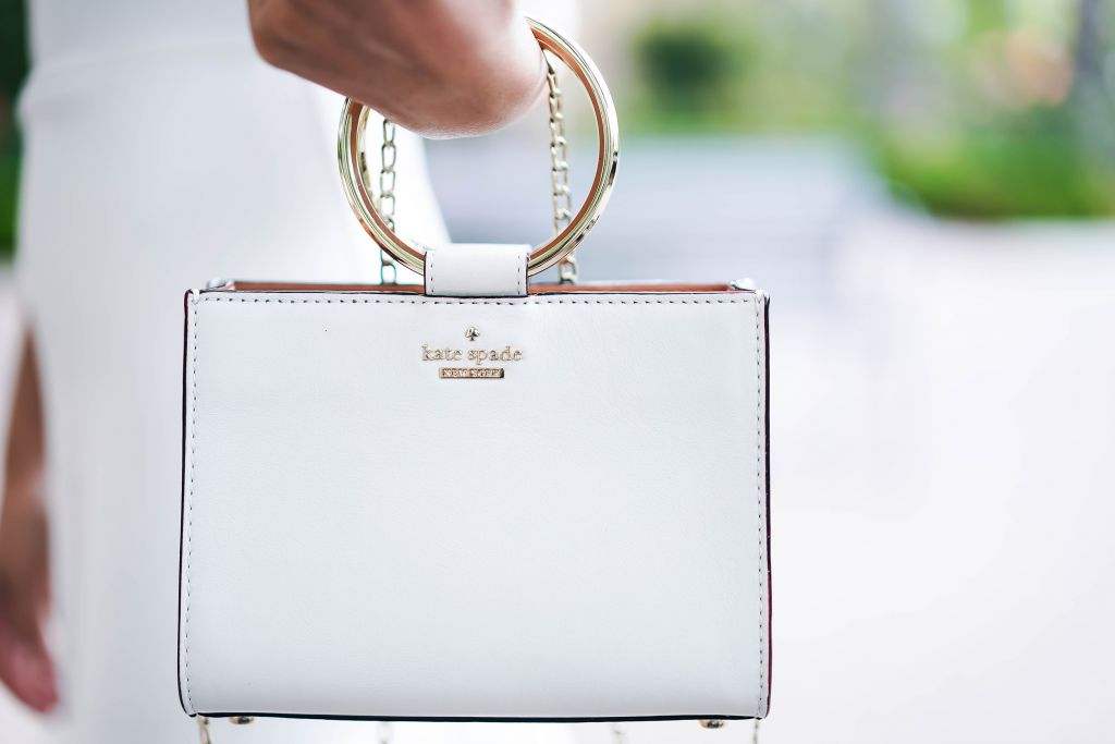 Kate Spade White Rock Road Mini Sam in Cement