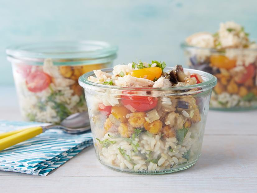 Layered Picnic in a Jar