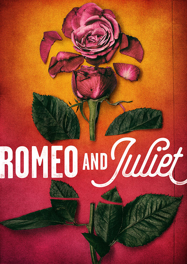 Romeo and Juliet will run August 11 – September 15, 2019 at The Old Globe. Artwork courtesy of The Old Globe.
