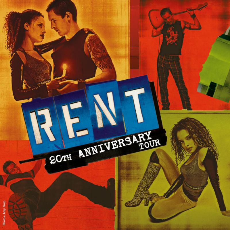 Rent 20th Anniversary Tour Poster