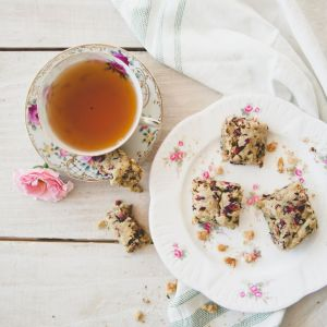 Rose Tea Cookies that are gluten and dairy free