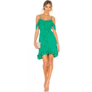 RSVP by BB Dakota Make An Entrance Dress in Pepper Green