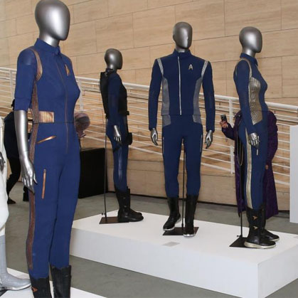 Interactive Exhibit Star Trek: Discovery – Fight for the Future Costumes