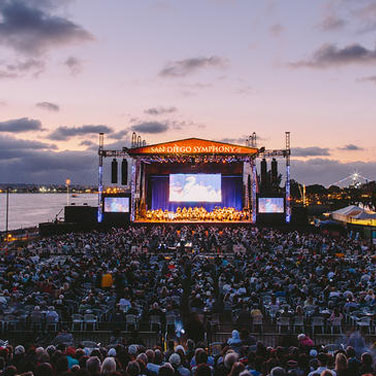 The San Diego Symphony's Bayside Summer Nights concert