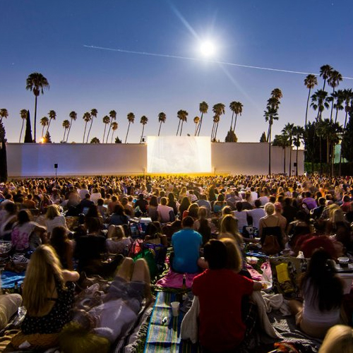 Hollywood Forever Cemetery Outdoor Movie Screenings