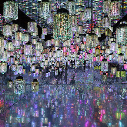 Museum of Dream Space, Lantern Room, Beverly Center