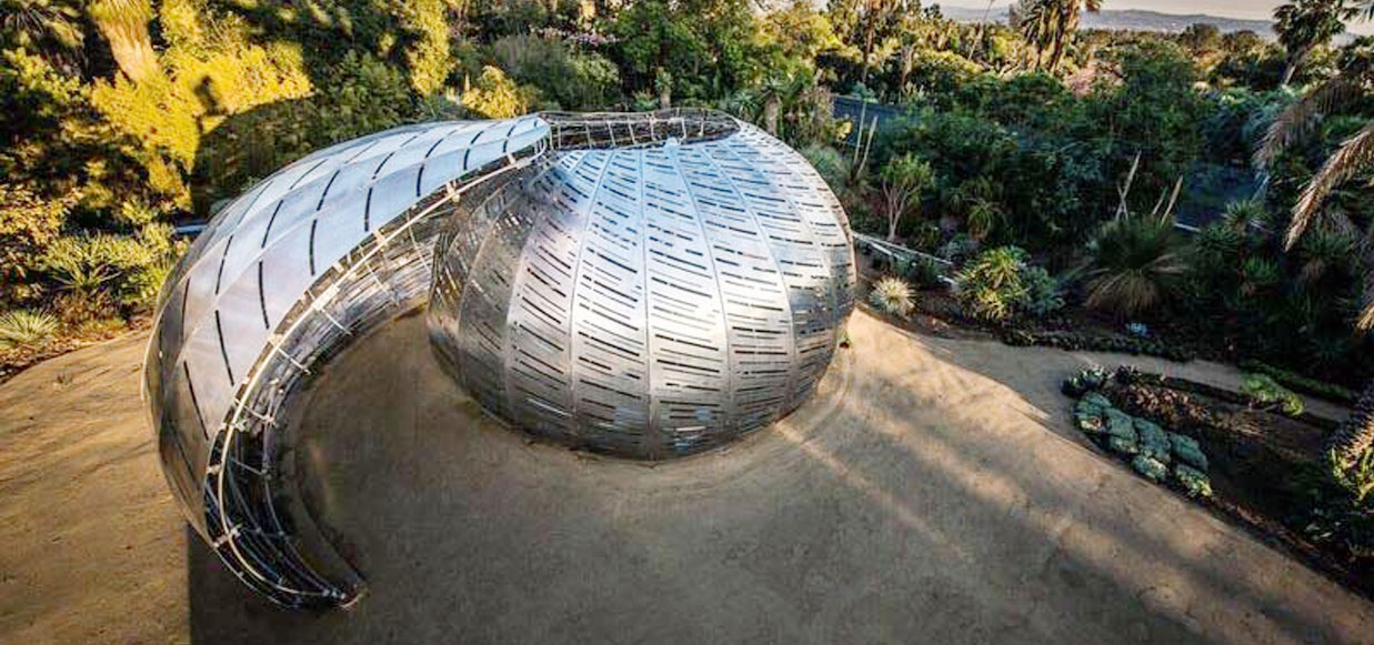 The Orbit Pavilion, The Huntington in Pasadena CA