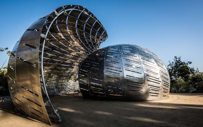 The Orbit Pavilion Exterior