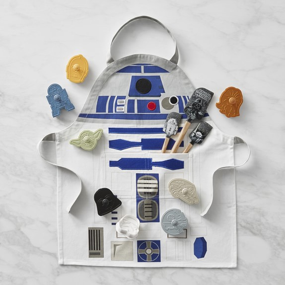 Star Wars™ Cookie Cutters, Spatula & Apron Set