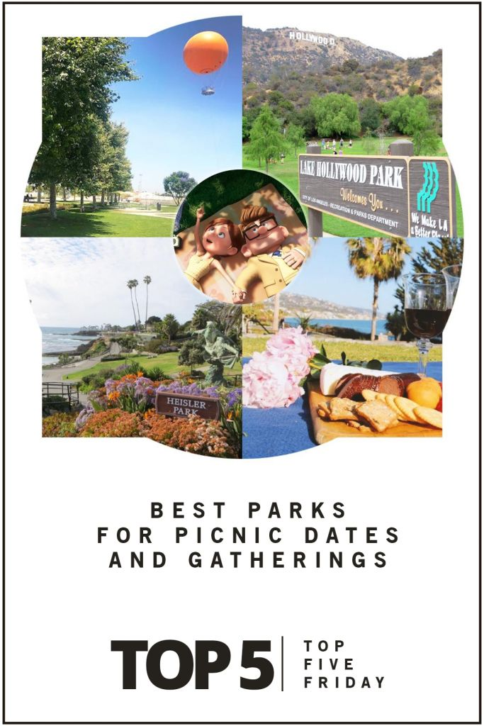 Top Five Friday: Best Parks for Picnic Dates and Gatherings