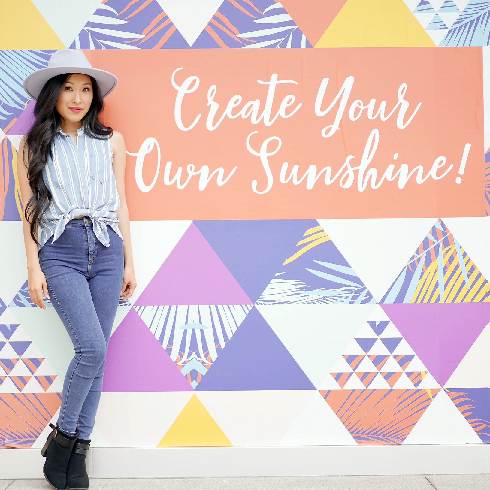 Create Your Own Sunshine, Fashion