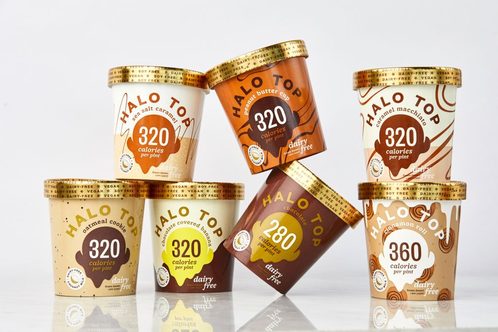 Halo Top Non-Dairy Vegan Ice Cream