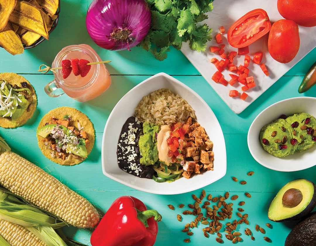 Tocaya Healthy Mexican Food Bowl
