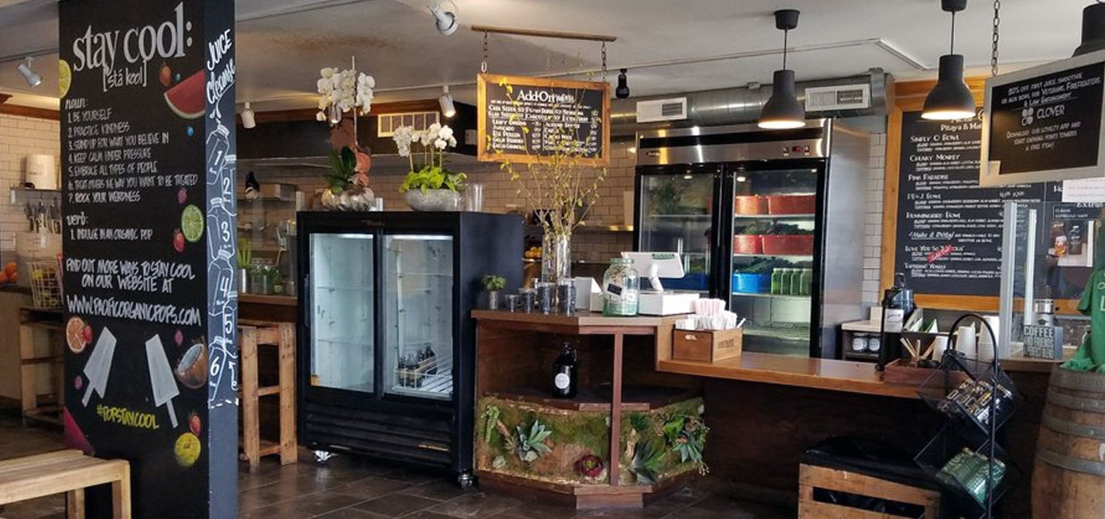 Simply Organic O Juice Bar Interior