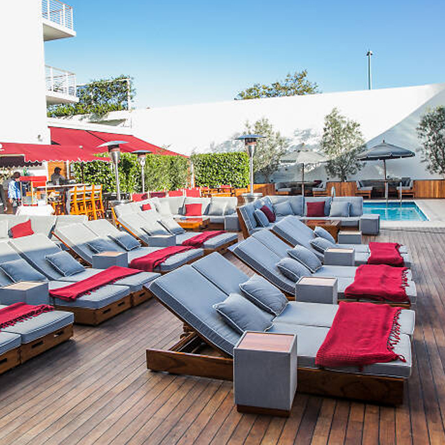 Poolside Cinema at Mr. C's Beverly Hills