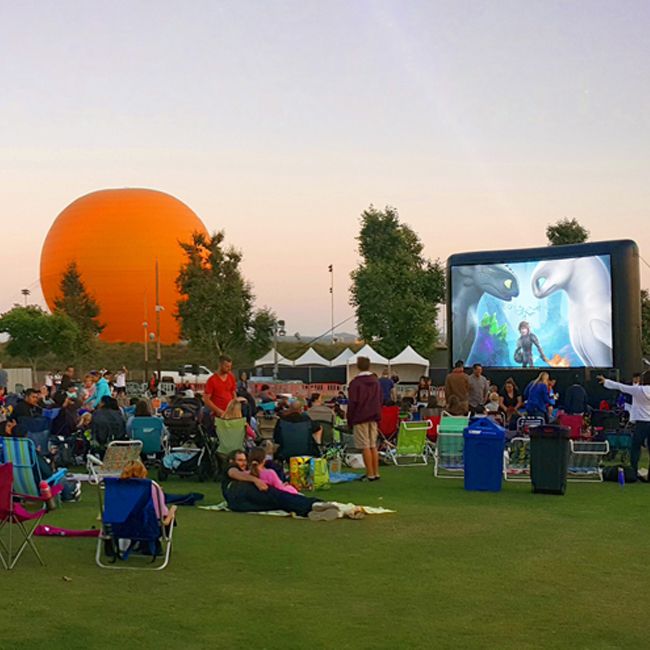 Orange County Great Park Screenings