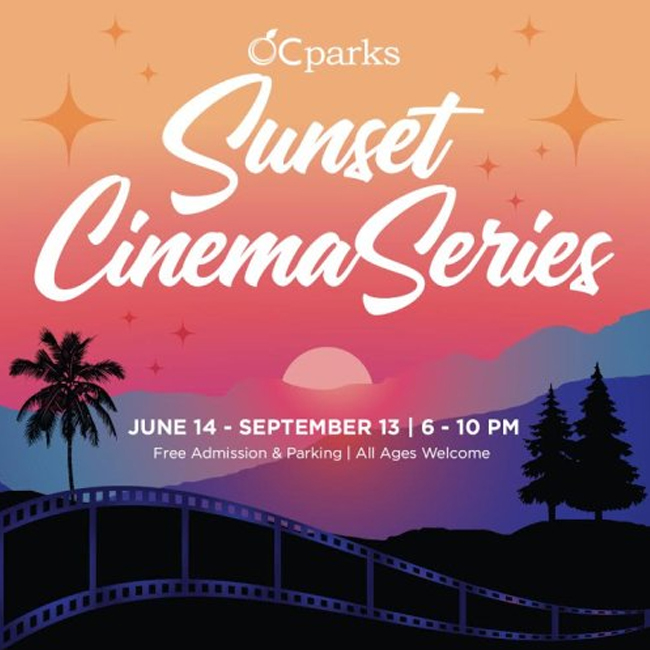 OC Parks Sunset Cinema Series