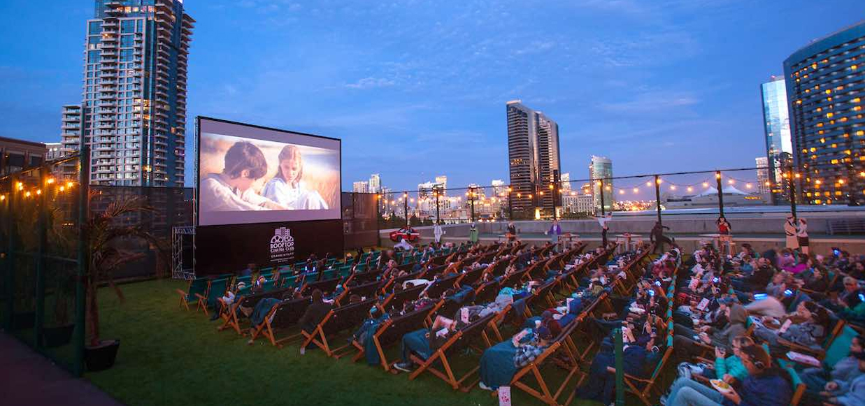 Rooftop Cinema San Diego Location