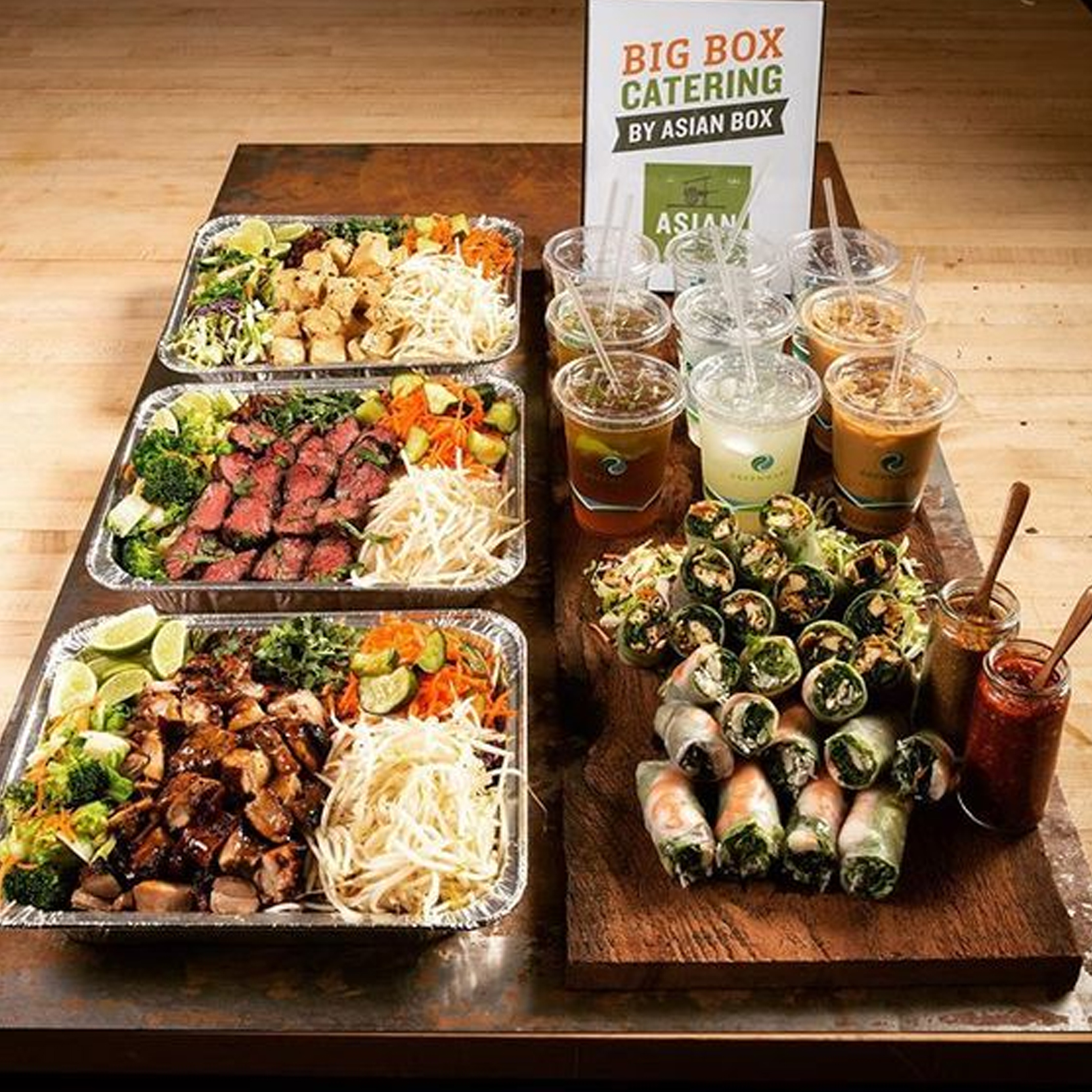 AsianBox Gluten Free Japanese Catering
