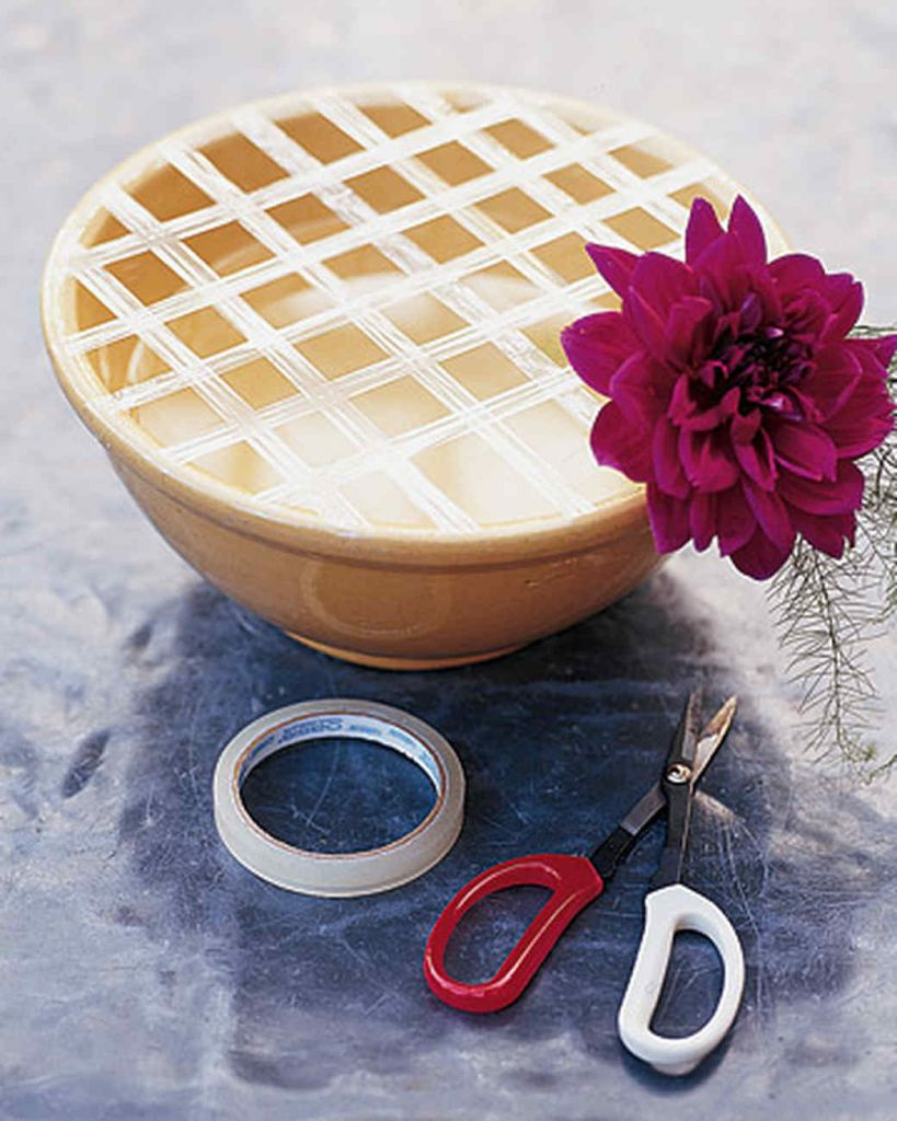 Photo Credit: Martha Stewart, Flower Arranging Tape