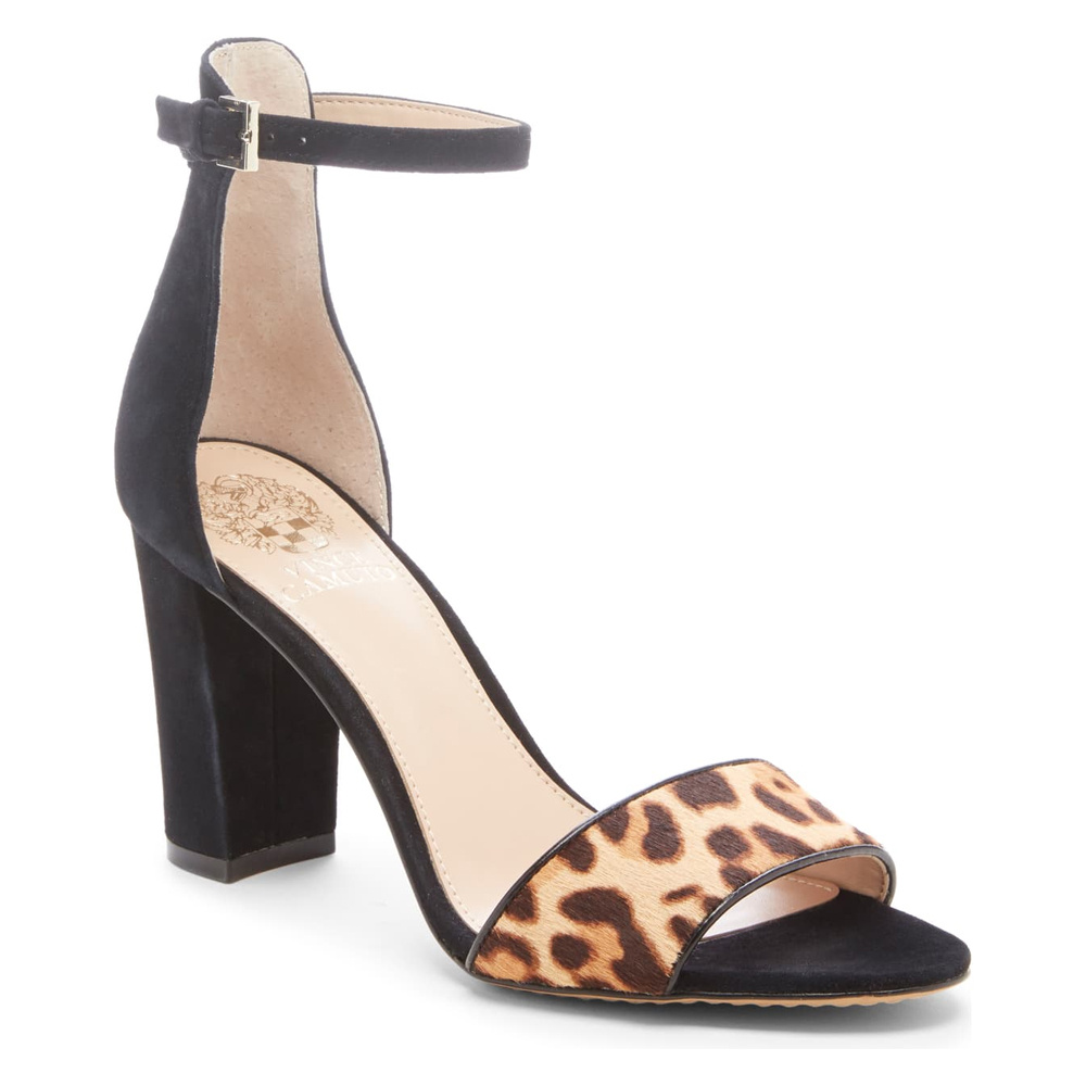 Vince Camuto Corlina Ankle Strap Sandal, Nordstrom's Anniversary Sale 2019 Animal Print Trend
