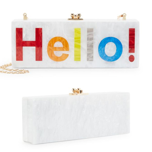 Circus by Sam Edelman Hello Colorblock Clutch