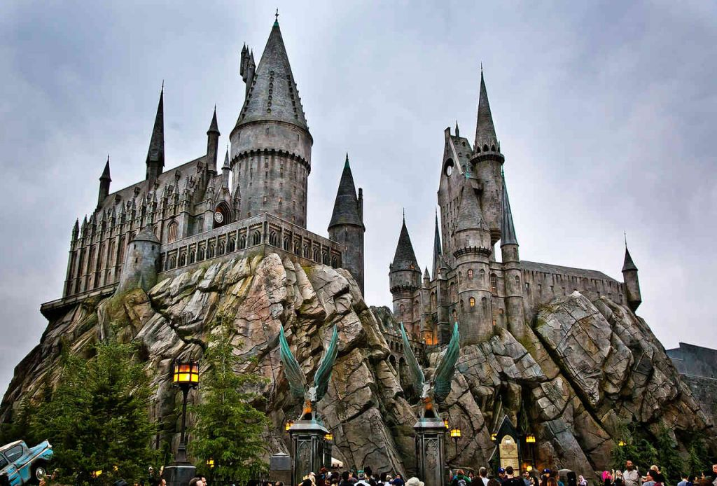 Wizarding World of Harry Potter The Castle, Universal Studios California
