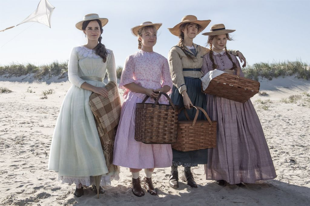 "Emma Watson, Florence Pugh, Saoirse Ronan and Eliza Scanlen in ""Little Women.""Wilson Webb / Columbia Pictures"