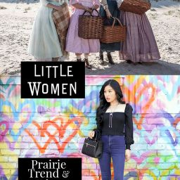 Little Women: Prairie Trend and Urban Romantic Style