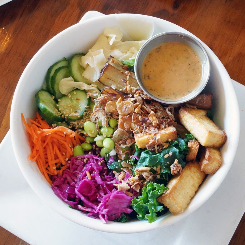 Sage Vegan Bistro, Miso Rainbow Bowl