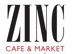Top 5 Friday: Zinc Cafe and Market logo, Healthy Green Restaurant