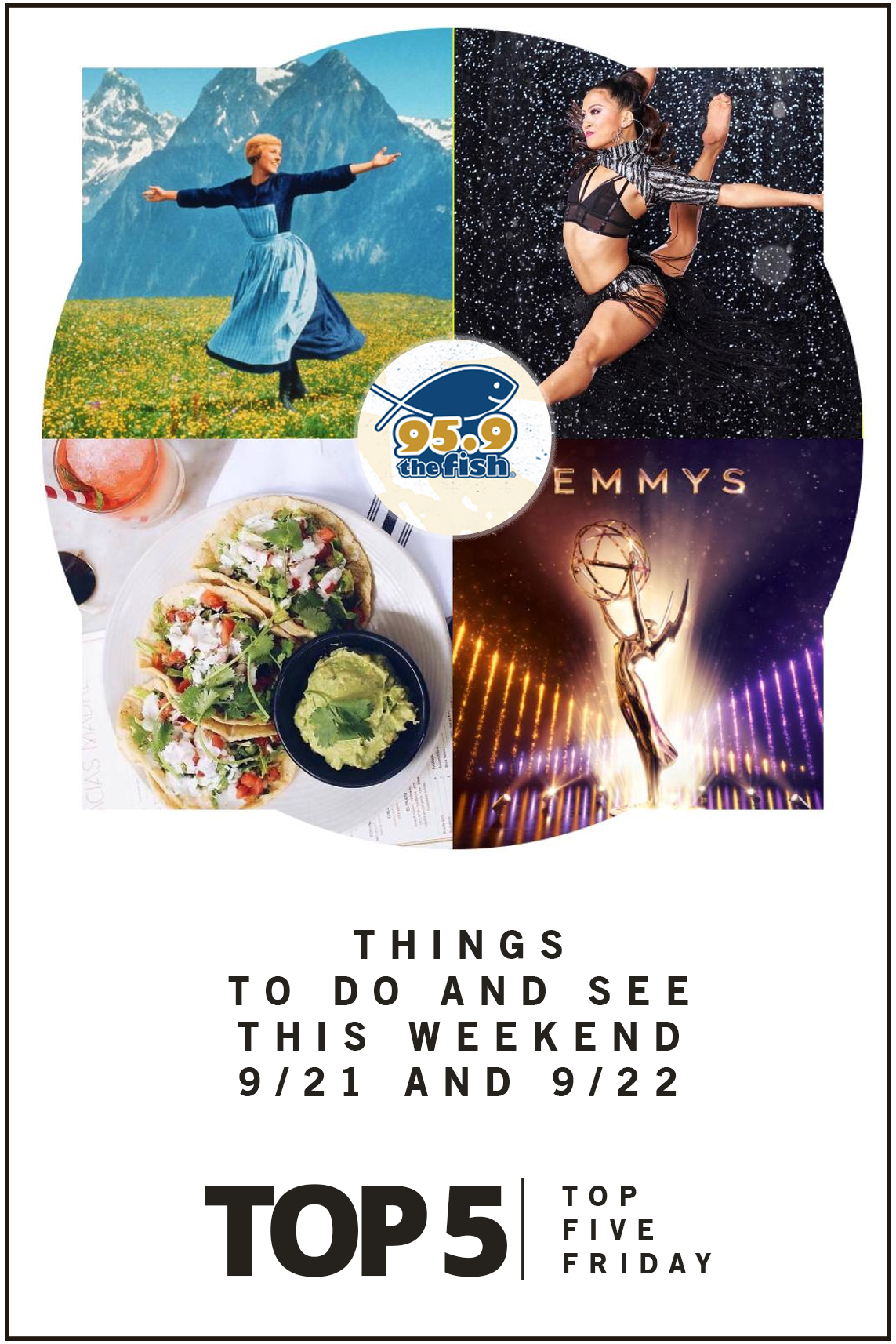 Top Five Friday: Things to Do and See This Weekend September 21st and 22nd 2019