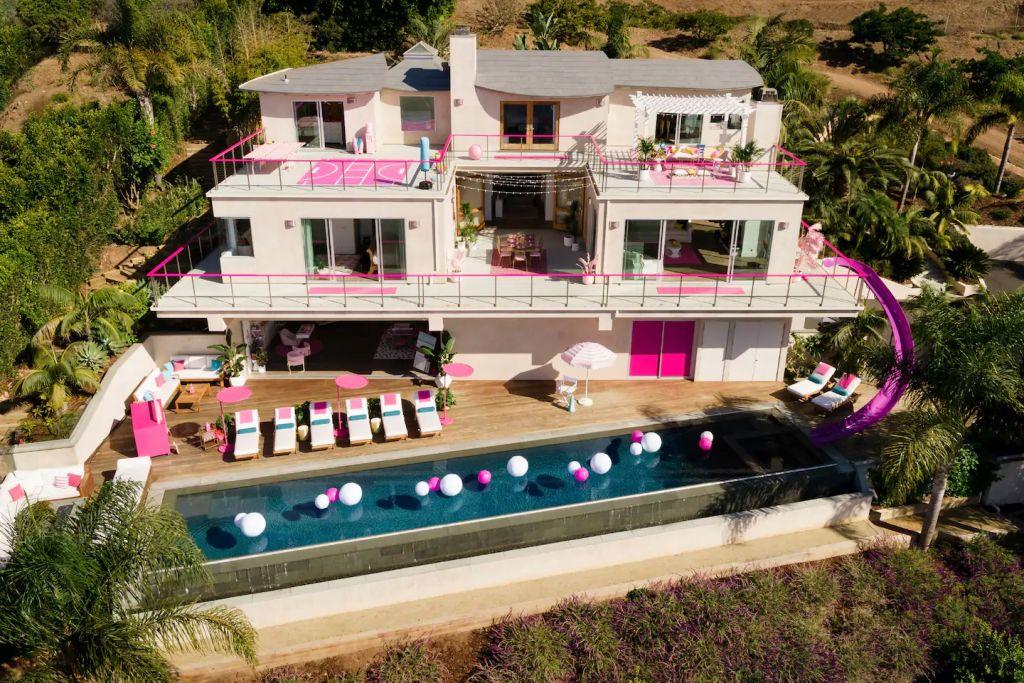 Barbie Malibu Dreamhouse Exterior Airbnb
